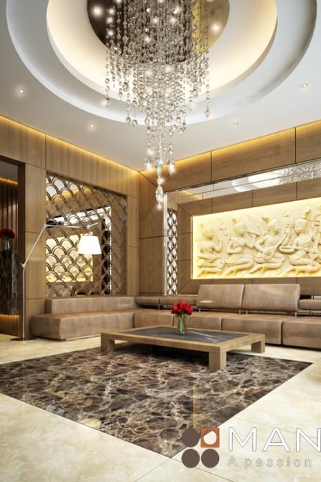 Dự án thiết kế nội thất biệt thự ở Yết Kiêu
