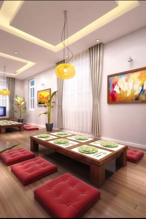 Dự án thiết kế nội thất biệt thự Linh Đàm Hà Nội