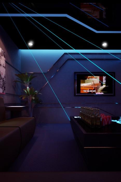 Dự án thiết kế nội thất quán Karaoke Venus Hà Nội