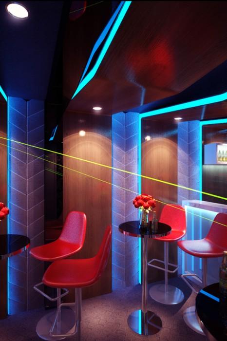 Dự án thiết kế nội thất quán bar mini