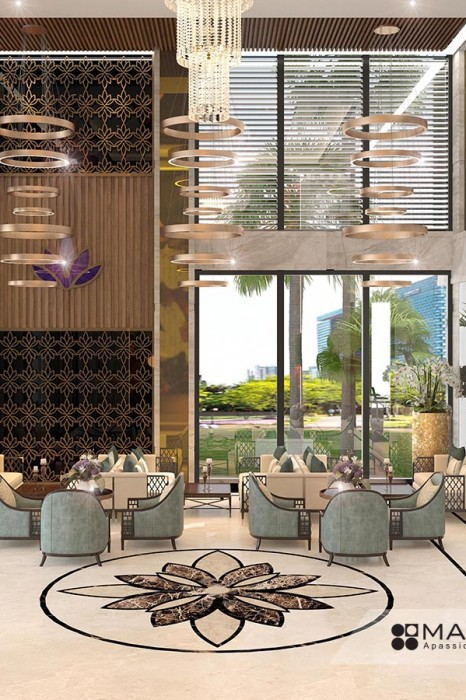 Dự án thiết kế khách sạn Anh Tâm