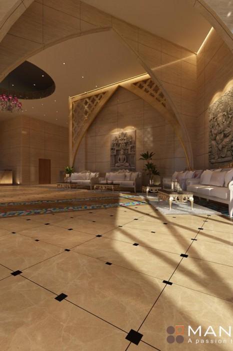 Dự án thiết kế khách sạn sang trọng đẳng cấp