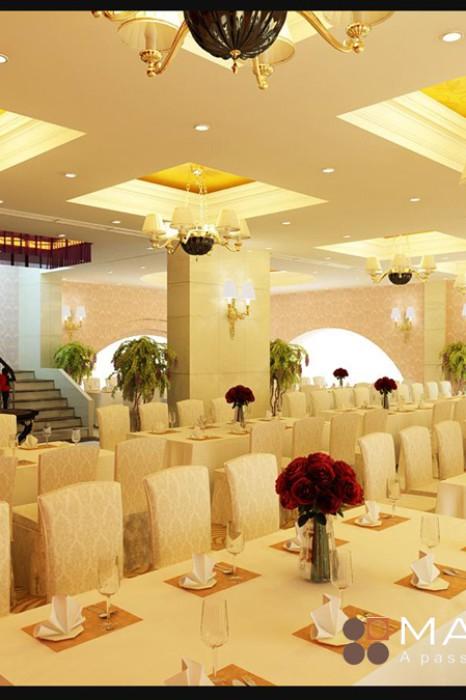 Dự án thiết kế khách sạn Phương Anh Hải Dương