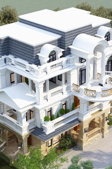 """Dinh Thự """"Trăm tỷ"""" Mr. Tuyến-Mansion Hà Nam"""