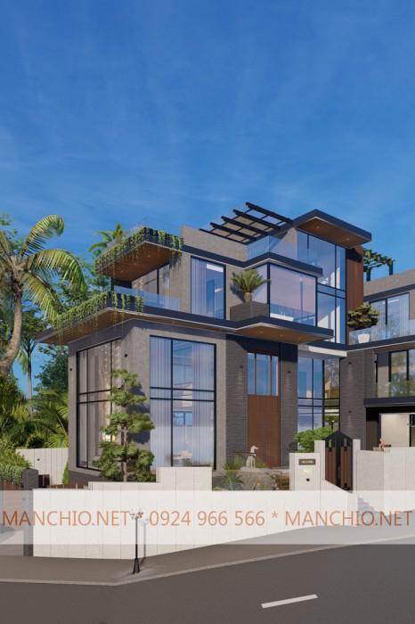 Thiết kế Kiến trúc/Nội thất Biệt Thự Biển