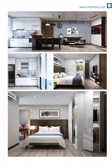 Thiết kế nội thất căn hộ Imperia Garden