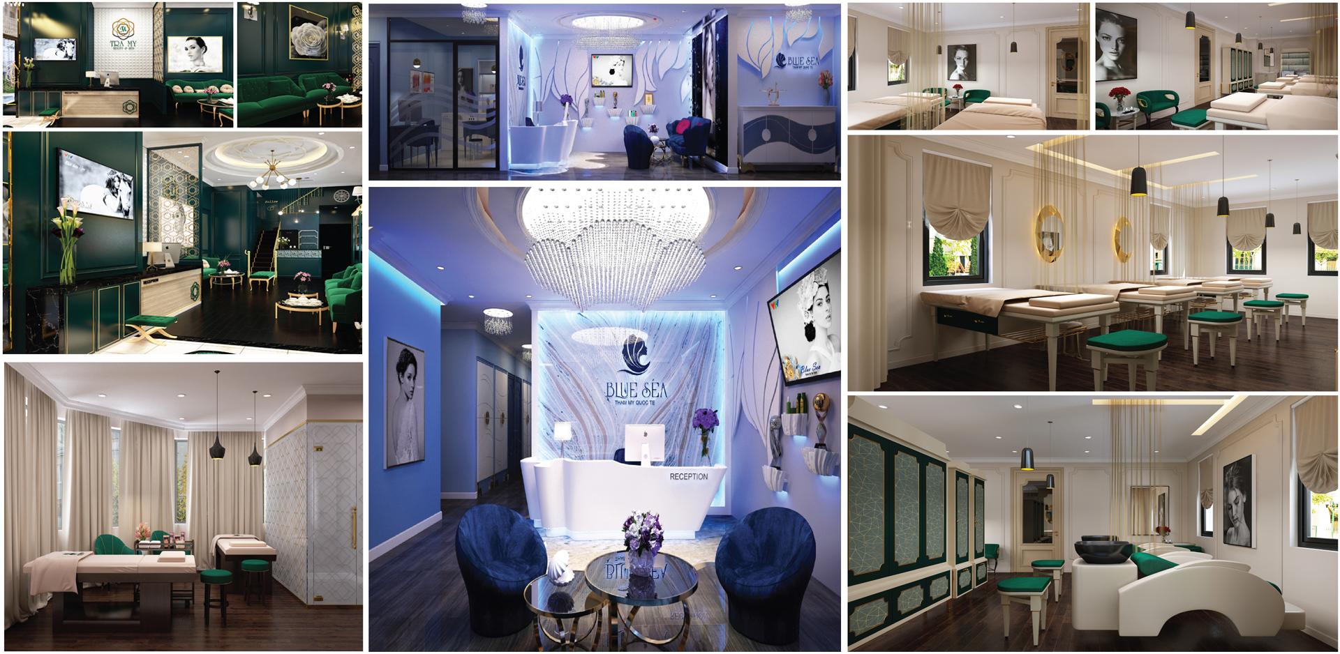 Manchio - Thiết kế, Thi công thẩm mỹ viện Spa , Beauty Saloon, Resort đẳng cấp nhất tại Việt Nam