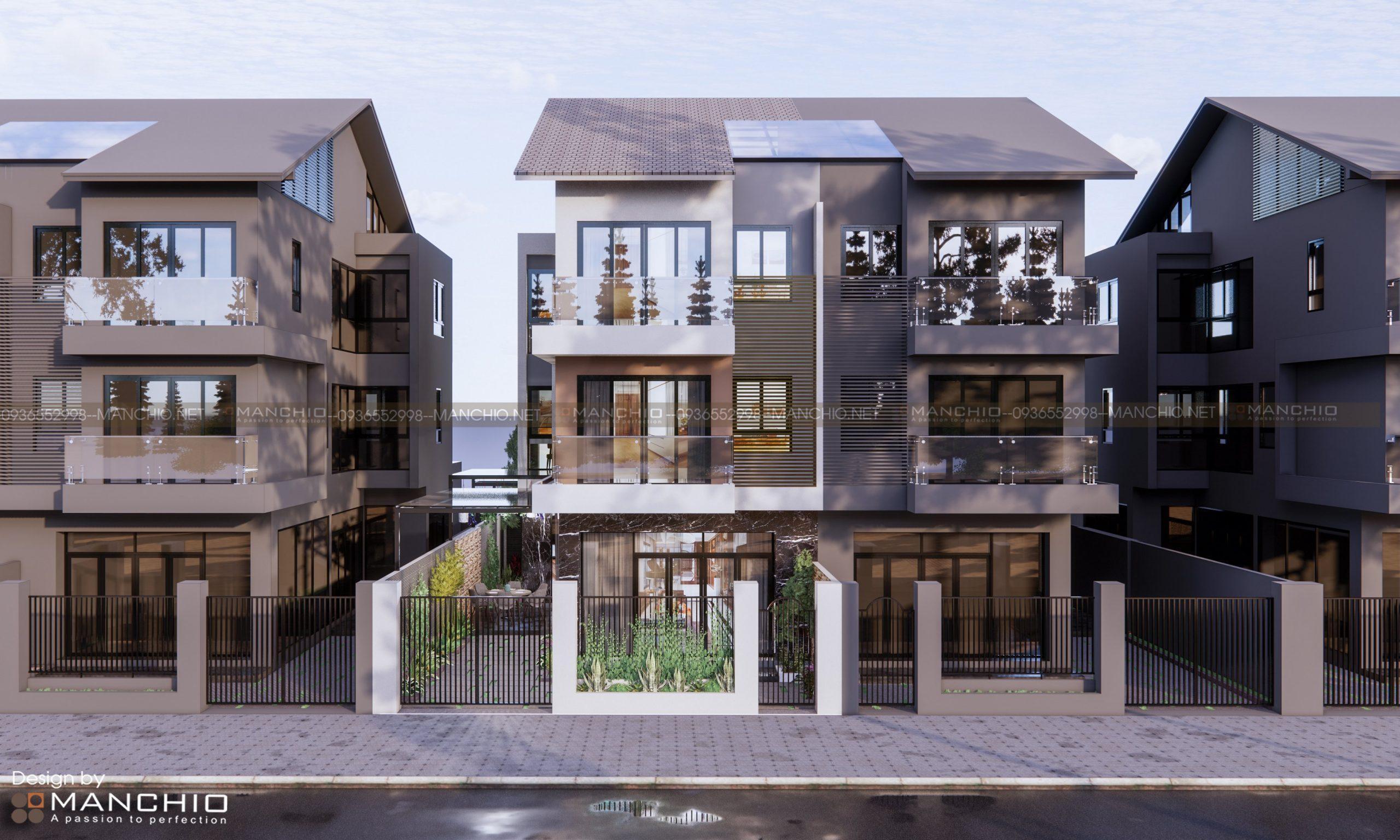 Thiết kế kiến trúc / nội thất biệt thự Dương Nội nhà chị Ngọc